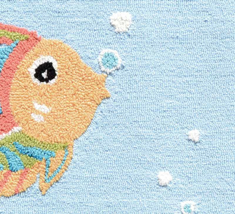 Fish party rug by the rug market for Fish area rug