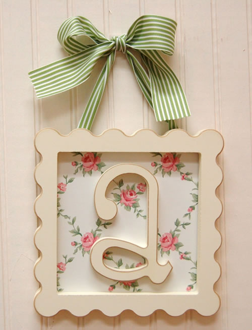 framed wooden letters by new arrivals inc With framed wooden letters