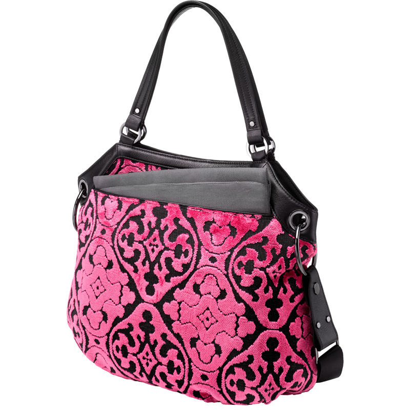 halifax hobo diaper bag dragonfruit cake by petunia pickle bottom. Black Bedroom Furniture Sets. Home Design Ideas