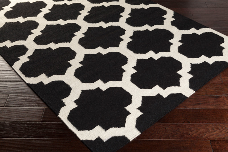 Harlow Rug In Black And White By Artistic Weavers