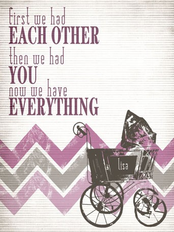 Have Everything Pink Canvas Wall Art By Oopsy Daisy