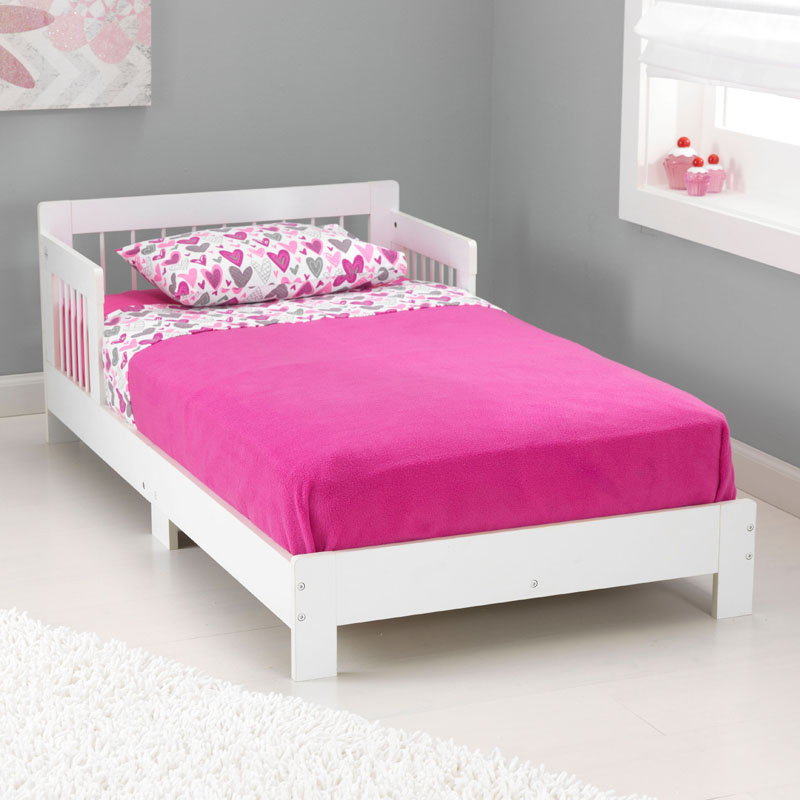 houston toddler bed white by kidkraft