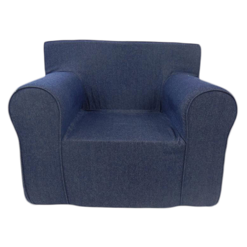 The ultimate kids chair in denim for Toddler foam chair