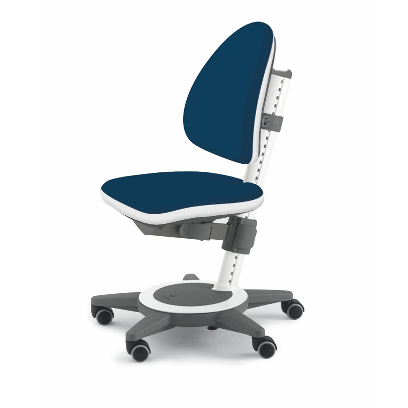 Maximo Adjustable Desk Chair Navy Blue