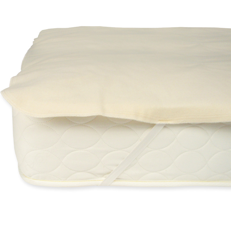 organic cotton waterproof mattress protector pad by naturepedic. Black Bedroom Furniture Sets. Home Design Ideas
