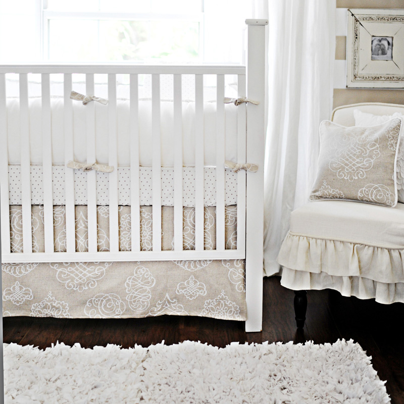 Pebble Moon Crib Bedding Set By New Arrivals Inc