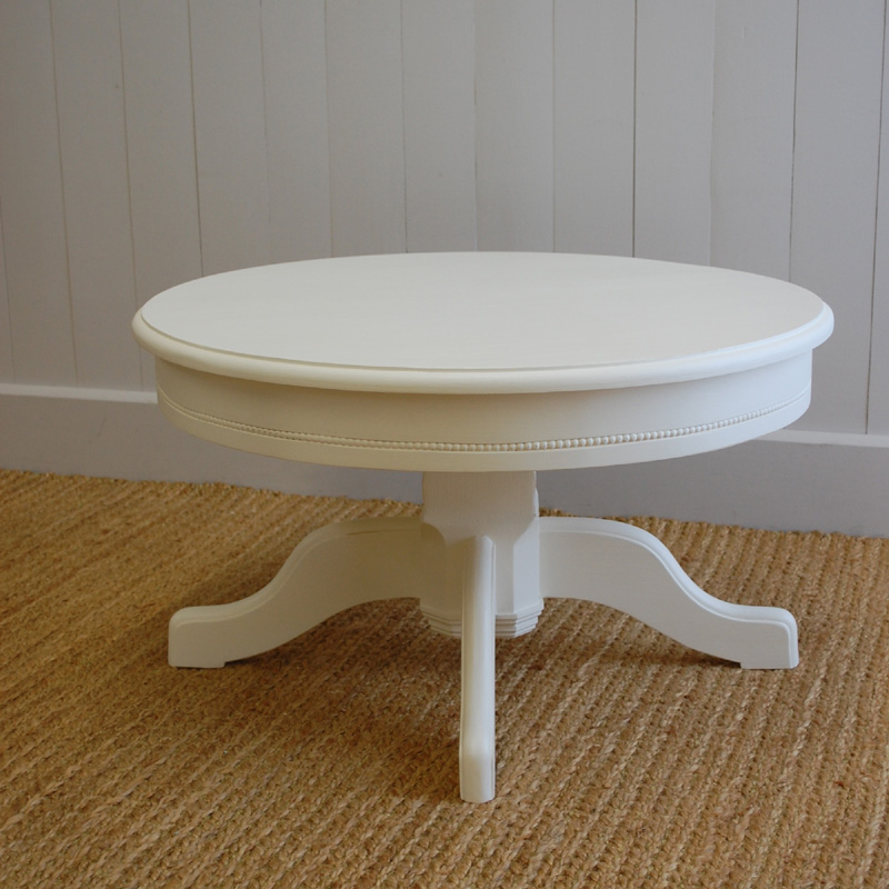 Pedestal Coffee Table By English Farmhouse Furniture