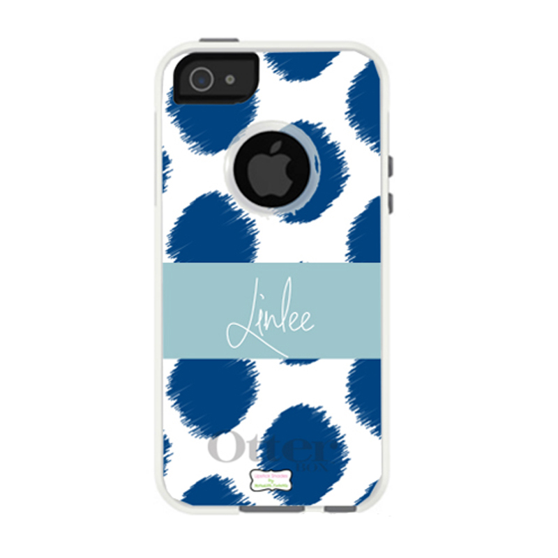 Personalized Otterbox Phone Case in Ikat Funk by Lipstick Shades