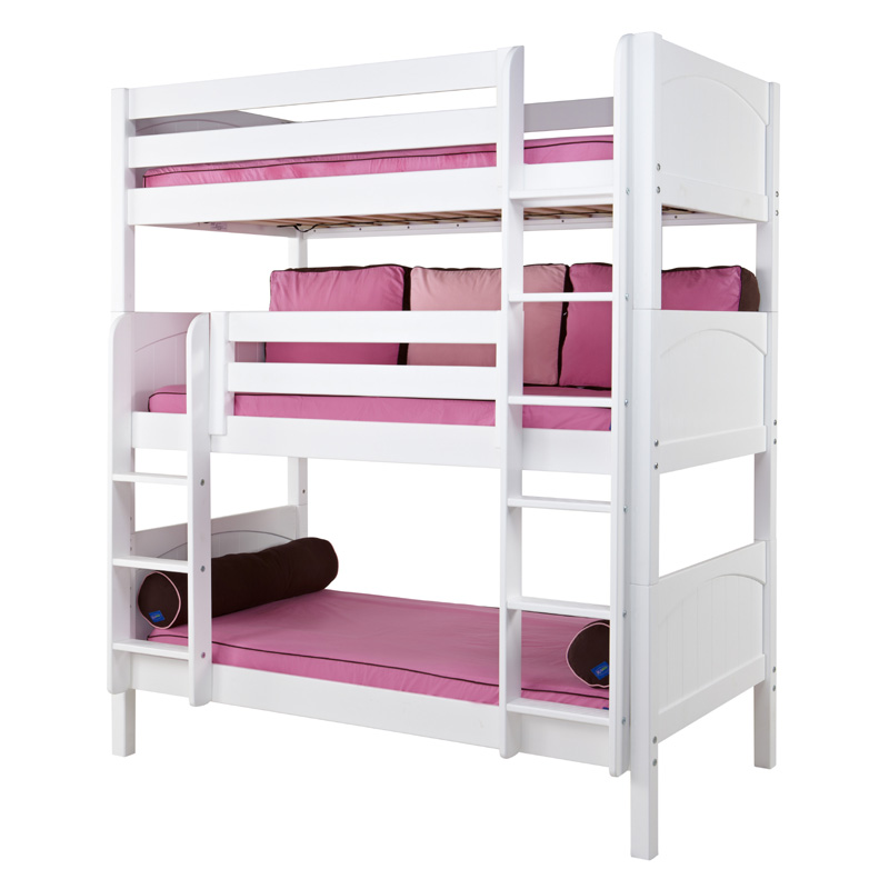 Holy Panel Medium Triple Bunk Bed