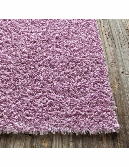 Riza Shag Rug In Pink By Chandra Rugs