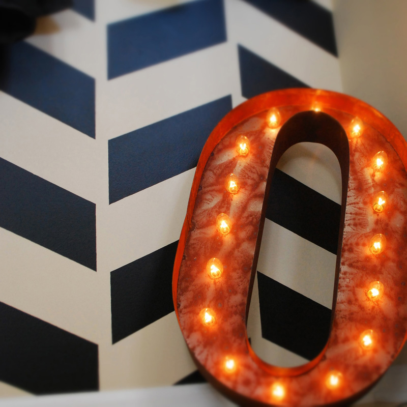 rusty 24 inch letter o marquee light by vintage marquee lights With 24 marquee letters