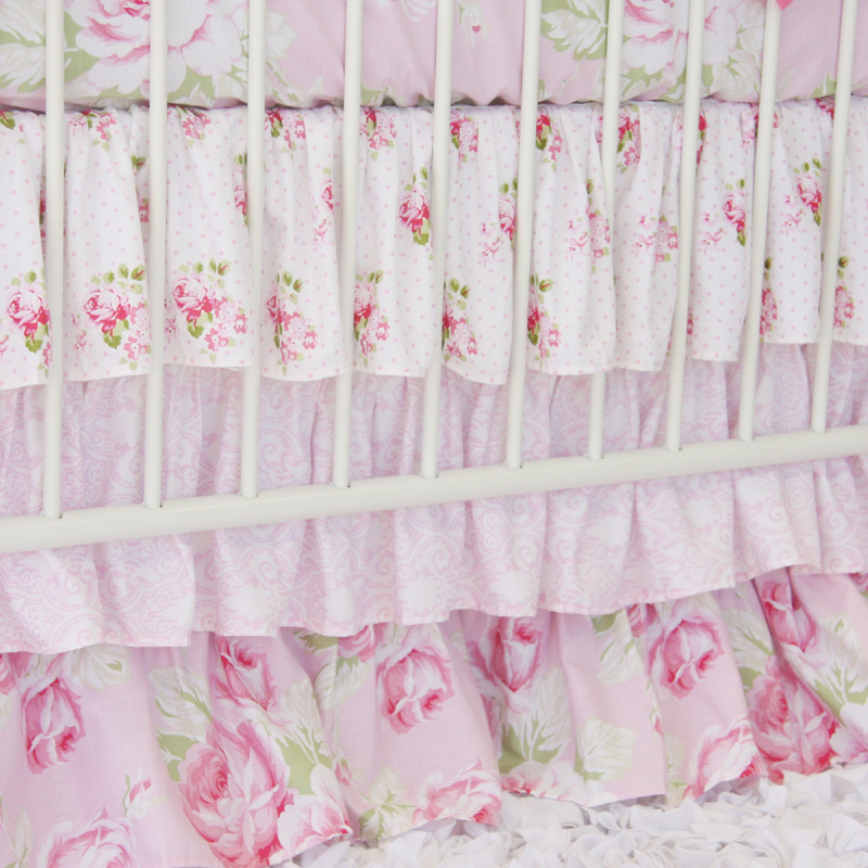 top 28 shabby chic crib set shabby chic baby bedding. Black Bedroom Furniture Sets. Home Design Ideas