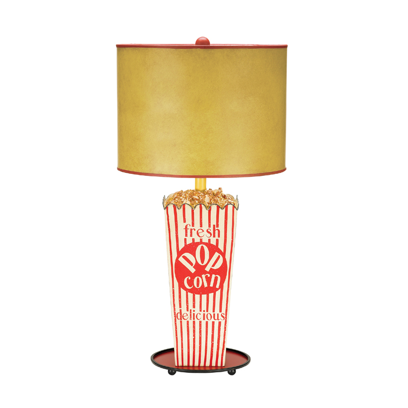 Theatre room popcorn lamp rosenberryroomscom for The lamp light theater