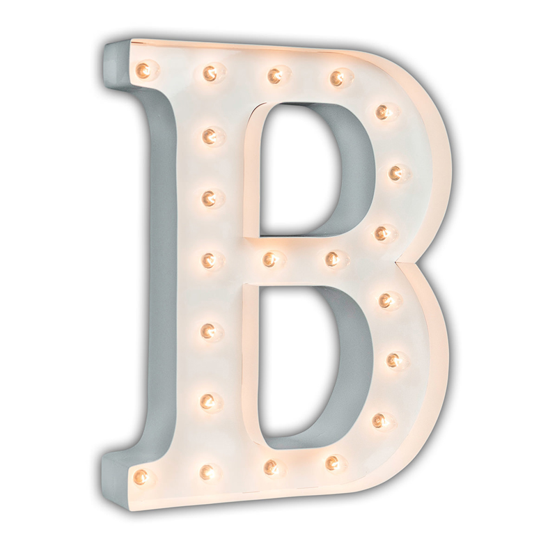 B Marquee Letter White 24 Inch Letter B Marquee Light By Vintage Marquee Lights