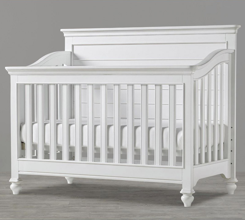 white convertible crib white grow with me. Black Bedroom Furniture Sets. Home Design Ideas