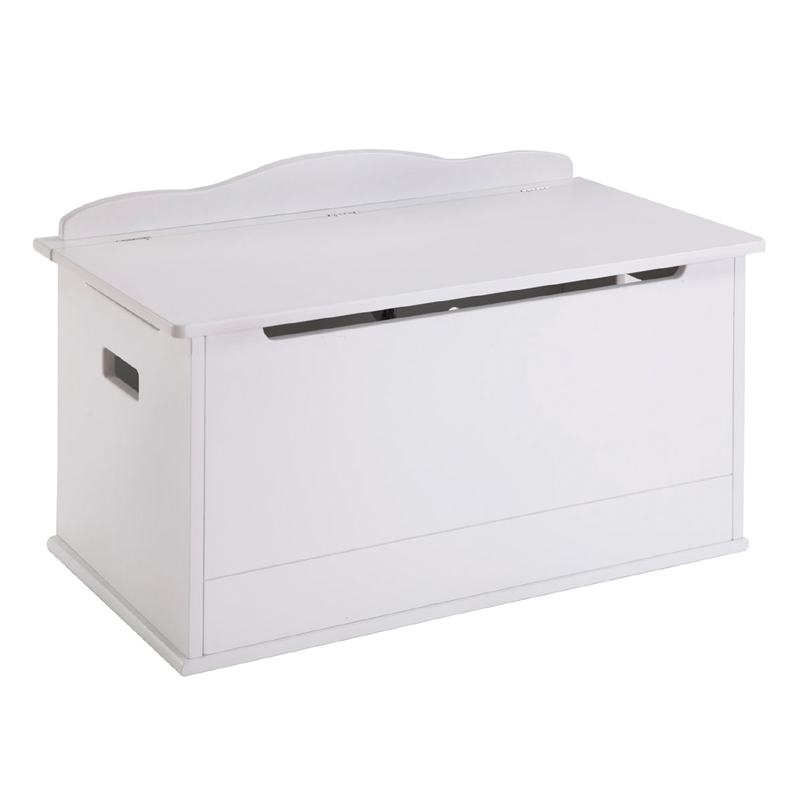 white personalized toy box. Black Bedroom Furniture Sets. Home Design Ideas