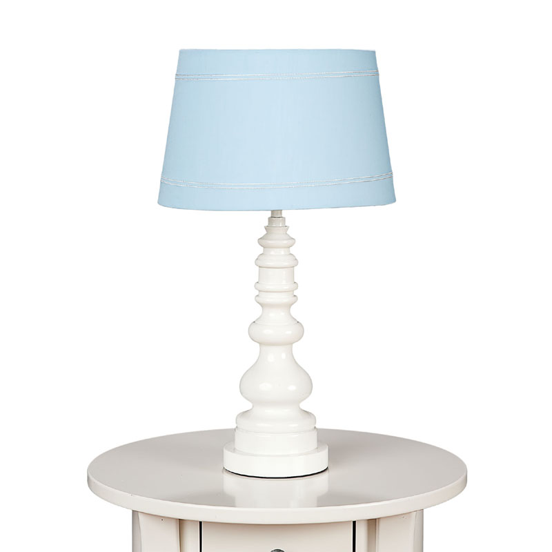 white spindle table lamp base by lolli living. Black Bedroom Furniture Sets. Home Design Ideas