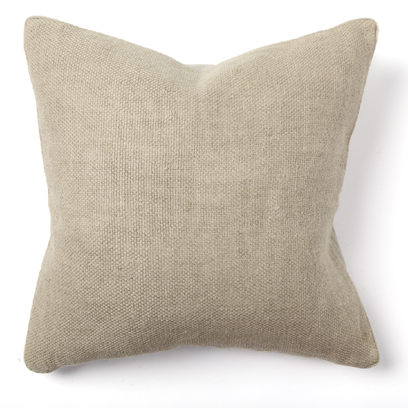 Willow basket weave natural throw pillow by villa home for Villa home collection pillows