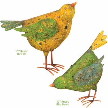 Barn Birds Decor (Set of 2) - Click to enlarge