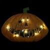 "11"" LED Pumpkin Statue - battery powered"