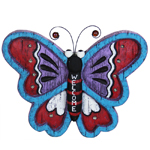 """11"""" Solar Butterfly LED Marquee Statue"""