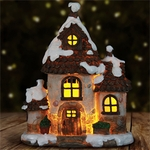 12.5 LED Holiday House with Timer