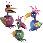 "12"" Krazy Kluckers Birds (Set of 3)"