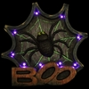"12"" LED Spider Web Marquee w/Timer"