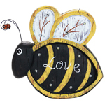 """12"""" Solar BumbleBee LED Marquee Statue"""