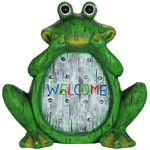 """12"""" Solar Frog LED Marquee Statue"""