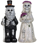 "12"" Wedding Skeleton Gnomes (Set of 2)"