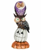"13"" Halloween Stacked Owls"