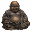"14.5"" Happy Sitting Buddha"