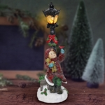 "14"" LED Lamp Light w/Little Girl - Battery Powered"