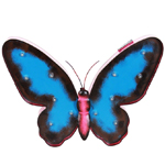 """14"""" Solar Marquee LED Butterfly"""