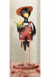 "15"" Crow Man Figurine"