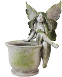 "15"" Fairy Pot Planter - Sitting"