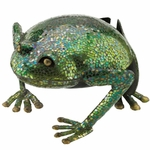 "15"" Mosaic Frog Decor"