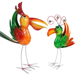 "16"" Jungle Birds (Set of 2)"
