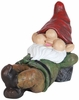 "16"" Woodsy Gnome Statue Sleeping"