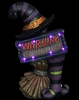 "17"" LED Warning Witch Marquee"