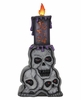 """18"""" LED Stacked Skulls Marquee w/Timer"""