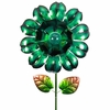 "18"" Solar Bloom Garden Stake - Green"
