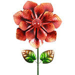 "18"" Solar Bloom Garden Stake - Orange"