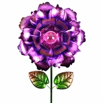 "18"" Solar Bloom Garden Stake - Purple"