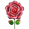 "18"" Solar Bloom Garden Stake - Red"