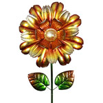 "18"" Solar Bloom Garden Stake - Yellow"