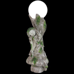 "18"" Solar Fairy Sitting on Mushroom"