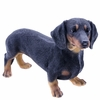 "19.5"" Dachshund Statue Standing ""Ultra-Realistic"""
