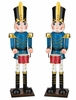 "19"" Blue Toy Soldiers w/Drum (Set of 2)"